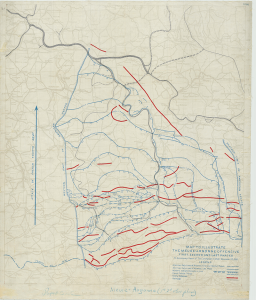 Meuse-Argonne Offensive Map